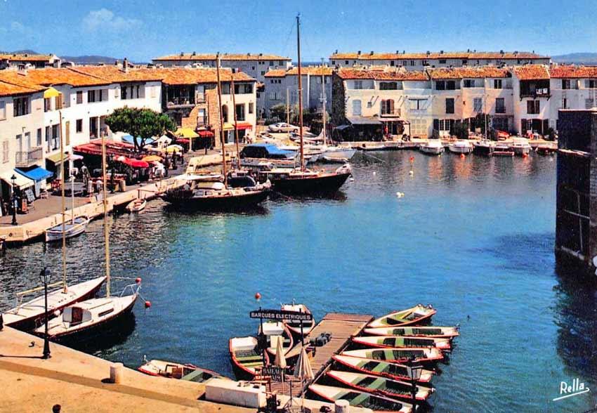 Historique de port grimaud en vrac - Visiter port grimaud ...